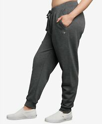 Champion Plus Size Powerblend Fleece Joggers Granite Heather Size 1X $29.99