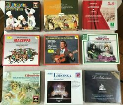 Opera Classical Music CDs box sets Mozart Verdi Britten Massenet Beethoven $20.00
