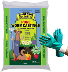 30 Lb Worm Castings Organic Fertilizer Wiggle Worm Soil Builder Bundled With $45.99
