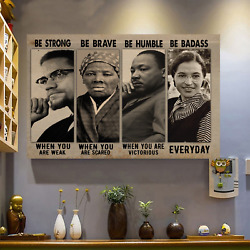 THE CIVIL RIGHTS LEADERS WALL CANVAS NO FRAME WALL CANVAS $20.95
