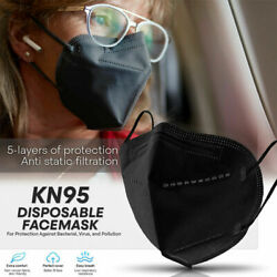 10 Pack KN95 Face Mask Cover Protection Respirator Masks K N95 5 Layer USA FAST $9.99