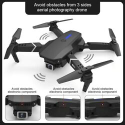 RC Quadcopter Obstacle Avoidance Drone With Dual Camera 1080P 4K Mini Drone Toy $89.99