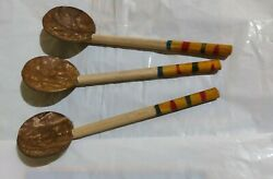 Handmade Coconut Shell Spoon Natural Kitchen Item Eco Friendly Traditional $5.99