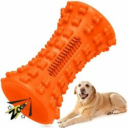 Dog Toys Squeaky for Aggressive Chewers Dogs Chew Toy Toothbrush Beef Flavor $16.99