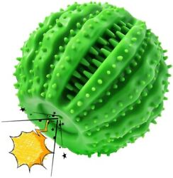 Dog Toys Squeaky Dog Chew Toys for Aggressive Chewers Indestructible Rubber Ball $20.99