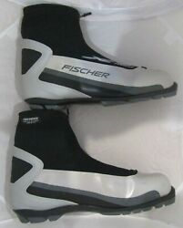 Fischer XC Touring Men#x27;s NNN Cross Country Ski Boots Size EU 47 $49.95