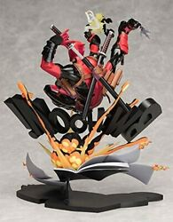 USED Deadpool Breaking the Force Wall Non scale ABS amp; PVC Painted Figure $411.52