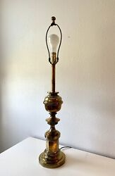 Vintage Brass Stiffel Table Lamp Issue Number E 9559 $105.00