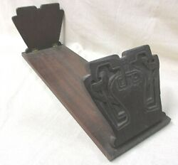 ARTS AND CRAFTS FOLDING WOODEN BOOK STAND $65.00