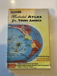 Hammonds Illustrated Atlas for Young America HC w dj great Cond No writing 1958 $18.00