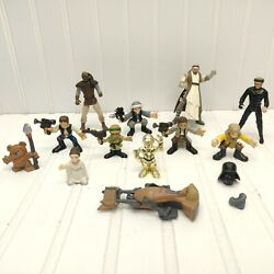 Lot Of 12 Star Wars Mini Figures Figurine Classic Collectable Set $19.90