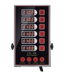 YOOYIST CAL 6B Calculagraph Commercial Kitchen Timer 6 Timers Adjustable Audio