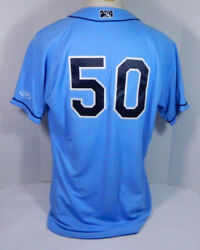 Lakewood BlueClaws #50 Game Used Light Blue Jersey DP04891