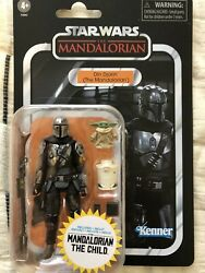 Star Wars Vintage Collection Din Djarin The Mandalorian and The Child 3.75quot; Inch $34.50
