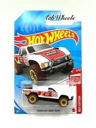 2021 Hot Wheels Target Red Edition Toyota Off Road Truck Holley Equipped White $2.24