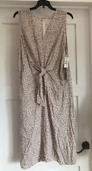 Light Pink Polka Dotted Classy Dress BRAND NEW With Tags Nordstrom Size XL $16.00