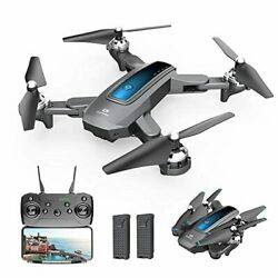 DEERC D10 Foldable Drone with Camera for Adults 720P HD FPV Live Video Tap Flyi $129.49
