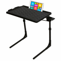 Table Mate II PRO Folding Desk TV Tray Portable Laptop Table Black $47.95