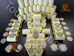 ONE 1 Unsearched Half Dollar Roll Bank SEALED Possible 40% 90% Silver coins $16.79