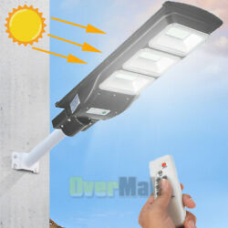 110000LM Outdoor Solar Street Light Commercial for Courtyard Garden Parking Lot