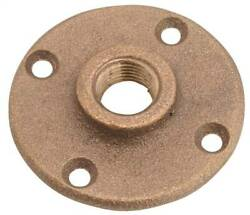 NEW Anderson Metals 38151 12 Brass Floor Flange 3 4quot; PIPE THREAD 6898993 $6.99