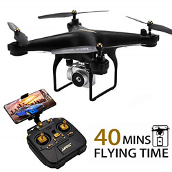 JJRC Drone with Camera for Adults 2020 MINS Longer Flight Time Drone with 720P $98.54