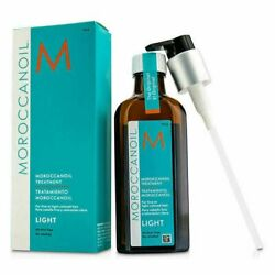 Moroccanoil Oil Treatment LIGHT with Pump 4.23 oz 125 ml SPECIAL EDITION $29.98