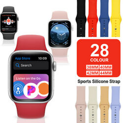 Band Strap for Apple Watch Sports Series 6 5 4 3 2 1 SE 38 40 42 44mm $3.95