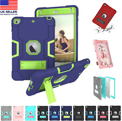 Shockproof Heavy Duty Hard Case Stand Cover for iPad 7th Gen Air Mini 1 2 3 4 5 $13.85