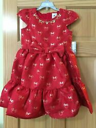 Disney Store Minnie Mouse Party Fancy Girls Dress Red Cruise NWT 12 18 months $29.99