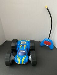 2007 Hasbro Tonka Flip Car 10quot; Bounce Back Racer w Remote Control Toy TESTED $27.00