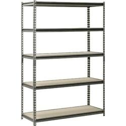 Shelf Steel Rack 5 Shelving Home Commercial Supply Storage and Work Bench Table