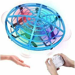 HAAYOT Mini Drone Kids Remote Control Flying Toys With LED Lights Hand Free USB $33.95