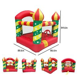 Christmas kids gift Inflatable Bouncer House W Air Blower amp;Jumping Castle250lbs $132.77