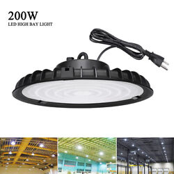 200W UFO Led High Bay Light Industrial Warehouse Shop Commercial Light Fixture