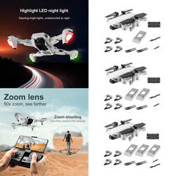 Foldable Drone RC Quadcopter GPS Mini Camera 4CH Profesional for Kids Adults $106.09