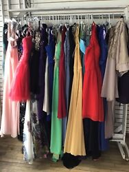 Lot Of 30 Formal Bridesmaid Evening Party Ball Prom Gown Cocktail Dresses $99.99