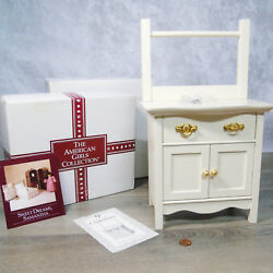 American Girl Pleasant Company SAMANTHA COMMODE Doll Night Stand Dresser In BOX $175.00