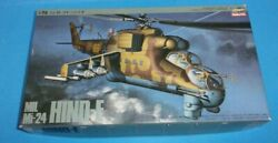 HASEGAWA MIL MI 24 HIND E HELICOPTER 1 72 SCALE MODEL KIT NEW $24.99