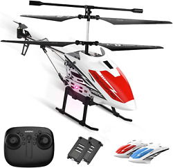 Metal Helicopter Toy Remote Control RC Aircraft Fly Off Landing for Kids s $48.83
