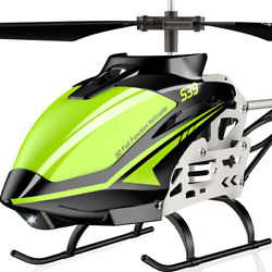 Metal Helicopter Toy Remote Control RC Aircraft Fly Off Landing for Kids s $91.66