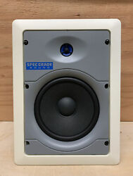 Leviton SGI65 W 6.5quot; Two Way In Wall Ceiling White Speaker Home Theater $24.99