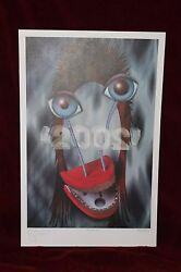 David Bowie Rex Ray Art Ltd Ed Hand Signed Autographed Numbered Lithograph $4418.33