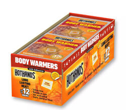 40 HotHands Adhesive Body Warmers Case of 5 Value Packs of 8 Ct EXP 2023 $36.88