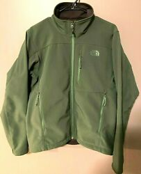 The North Face Apex Bionic Men#x27;s Soft Shell Jacket Green Small $49.99
