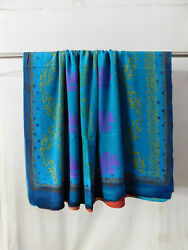 Recycled Vintage Material 5Yard Crepe Silk Craft Women#x27;s Loose Garment Cloth 146 $35.99