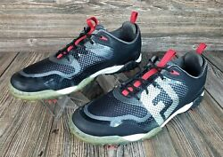 FootJoy Mens Freestyle Golf Shoes Soft Spike 57333 Size 13M Black Gray VGC $51.48