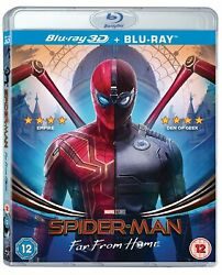Spiderman: Far From Home 3D Blu Ray 3D $29.95