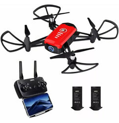 SANROCK H818 Mini Drones for Kids RC Quadcopter with 720P Real time Camera $36.99