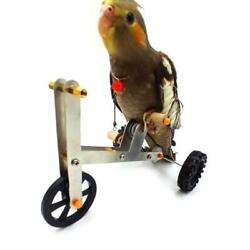 Parrot Mini Metal Bike Toy Birds Training Plaything Education Interactive Props $8.16